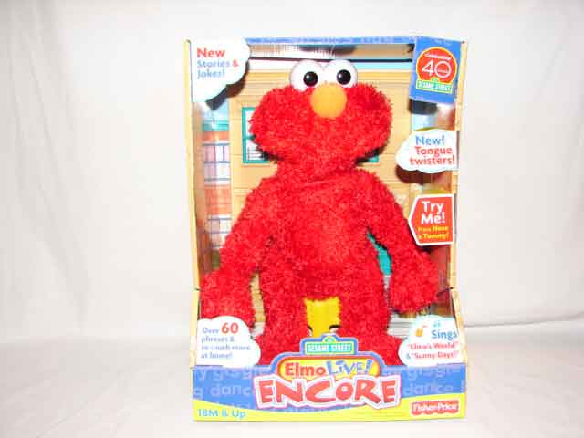 Fisher Price Elmo Live Encore - Model # N4673