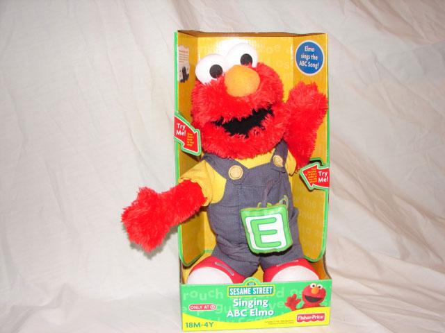 Stret plush dolls fisher price for Elmo abc