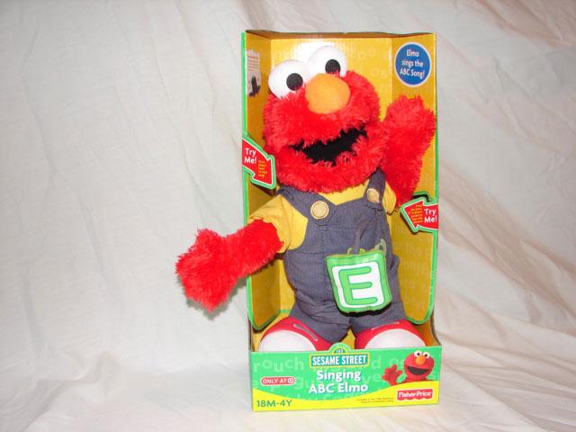 Fisher Price Singing ABC Elmo - Assortment # N6818 - Model # N6819