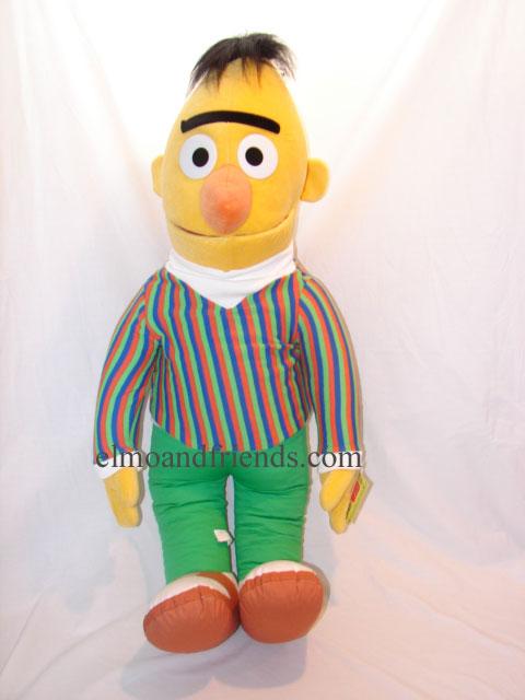 Nanco Bert  Elmo and Friendscom  Sesame Street Plush Dolls