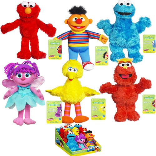 Sesame Street Toys : Elmoandfriends playskool sesame street pals