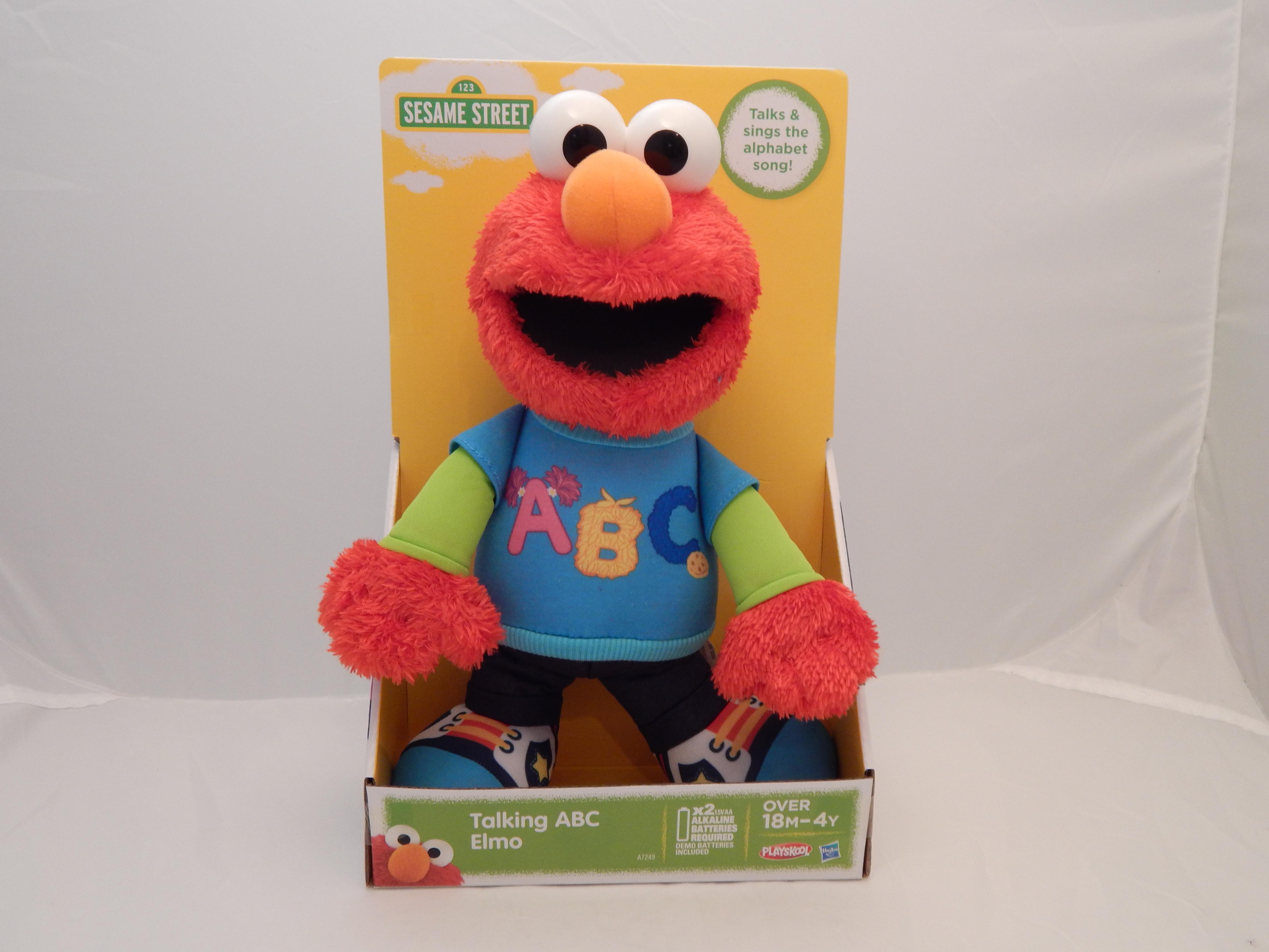 Sesame street plush doll news 2014 for Elmo abc